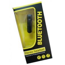 AURICULAR BLUETOOTH STEREO HEADSET PRETO