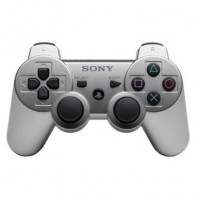 COMANDO PS3 SONY WIRELESS DUALSHOCK 3 SILVER - USADO