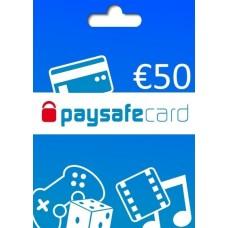 CARTÃO PAYSAFECARD - 50€
