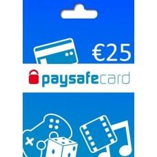 CARTÃO PAYSAFECARD - 25€