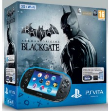 CONSOLA PS VITA 3G / WI-FI - USADA + JOGO BATMAN: ARKHAM ORIGINS BLACKGATE INCLUÍDO - USADO