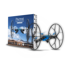 DRONE PARROT ROLLING SPIDER BLUE - REFURBISHED - NOVO