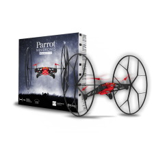 DRONE PARROT ROLLING SPIDER RED - REFURBISHED - NOVO
