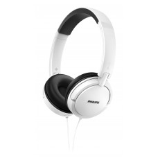 HEADPHONES EXTRA BASS PHILIPS SHL5000/00 BRANCO - NOVO