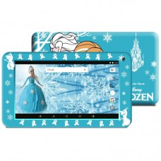 "TABLET ESTAR THEMED BLUE FROZEN QUAD 7"" 8GB RED INCLUI CAPA-NOVO"