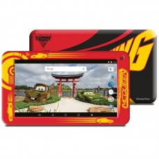 "TABLET ESTAR THEMED REDCARS 7"" 8GB INCLUI CAPA-NOVO"