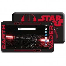 "TABLET ESTAR THEMED STAR WARS DV QUAD 7"" 8GB RED INCLUI CAPA-NOVO"