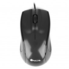 RATO NGS WIRED MOUSE MIST 1000 DPI - NOVO