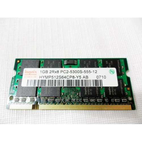 MEMORIA RAM 1 GB 2RX8 PC2 - USADO SEM CAIXA