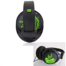 HEADPHONE HALFMMAN URBAN SOUND – BLACK/GREEN – NEW