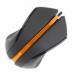 RATO A4TECH – V-TRACK – MINI – BLACK+ORANGE – MODELO N-310 - NOVO