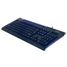 TECLADO A4TECH MODEL:KD-800L RECTRO-ILUMINADO – USB - NOVO