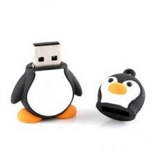 PEN USB 8GB PINGUIM - NOVO
