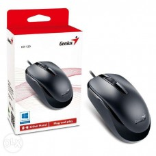 RATO USB BLACK WIRED MOUSE 1000DPI OPTICAL EITHER HAND - NOVO