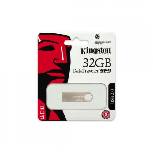 32gb usb 2.0 datatraveler se9 (metal casing)