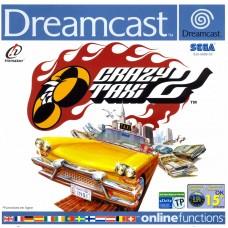 DC CRAZY TAXI 2 - USADO