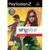 PS2 SINGSTAR PORTUGAL HITS - USADO