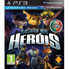 PS3 PLAYSTATION MOVE HEROIS - USADO