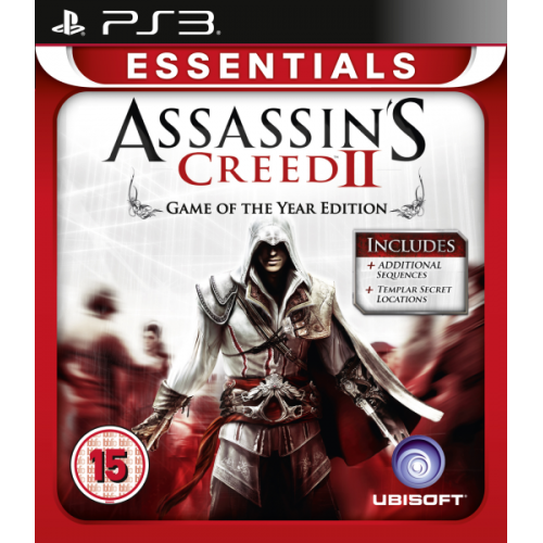 PS3 ASSASSIN'S CREED II: GAME OF THE YEAR EDITION - USADO