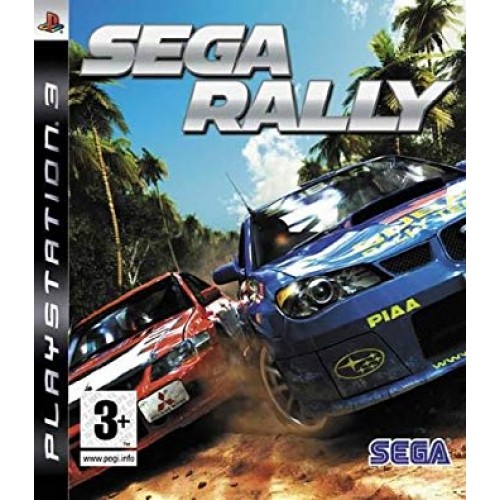 PS3 SEGA RALLY - USADO