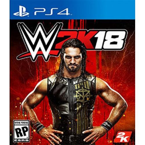 PS4 WWE 2K18 - USADO