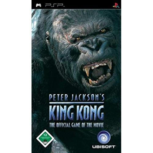 PSP PETER JACKSON´S KING KONG - USADO SEM CAIXA