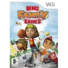 WII BIG FAMILY GAMES - USADO