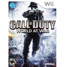WII CALL OF DUTY WORLD AT WAR - USADO