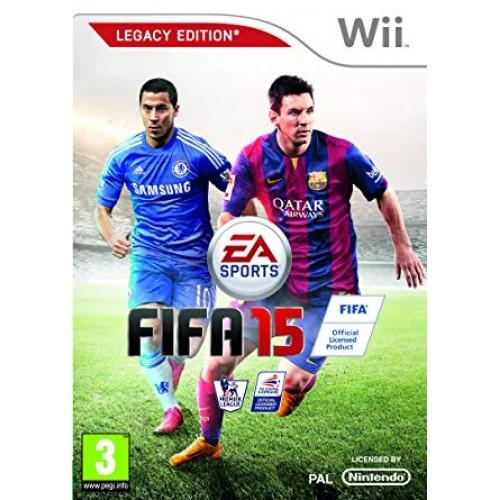 WII FIFA 15 - USADO SEM CAIXA