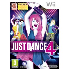 WII JUST DANCE 4 - USADO