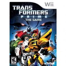 WII TRANSFORMERS PRIME: THE GAME - USADO