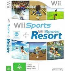Wii  WII  SPORTS+ WII SPORTS RESORT-USADO SEM CAIXA