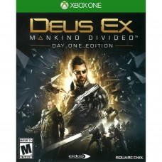 XBOX ONE DEUS EX MANKIND DIVIDED DAY ONE EDITION - USADO