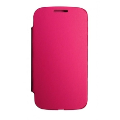 CAPA FLIP COVER SAMSUNG GALAXY S4 ROSA COMPATIVEL