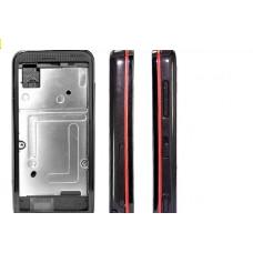 Tampa Completa com Aro Vermelho Nokia 5530