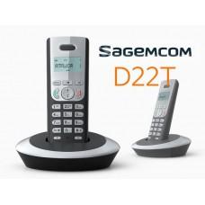 Telefone Fixo Sagemcom D22T - Usado
