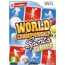 WII WORLD CHAMPIONSHIP SPORTS SUMMER - USADO