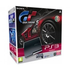 CONSOLA PLAYSTATION 3 SLIM  320GB + GRAN TURISMO 5 PS3