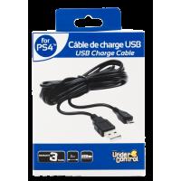 CABO USB DE CARREGAMENTO PARA O CONTROLADOR PS4