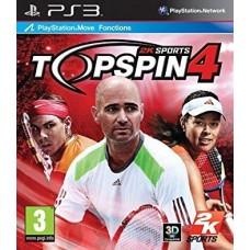 PS3 TOP SPIN 4 - USADO
