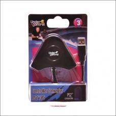 ADAPTADOR 2 COMANDOS PS2 PARA PC/PS3