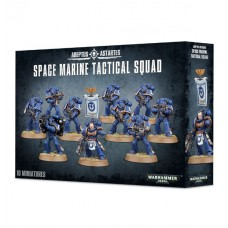 MINIATURAS EM PLÁSTICO WARHAMMER SPACE MARINE TACTICAL SQUAD