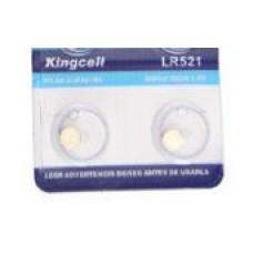 PILHA ALKALINE 1.5V LR521 379 AG-0 KINGCELL
