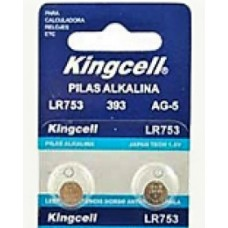 PILHA ALKALINE 1.5V LR753 393 AG-5 KINGCELL
