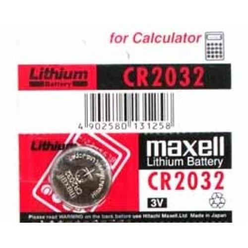 PILHA 3V CR2032 MAXELL