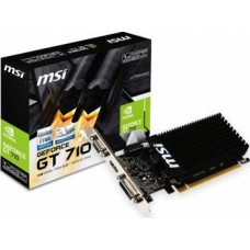 NVIDIA GEFORCE GT 710 1GB DDR3 PCI E2.0 HDMI - NOVO