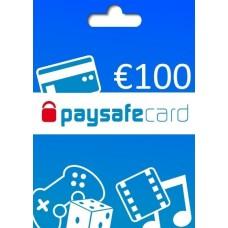 CARTÃO PAYSAFECARD - 100€