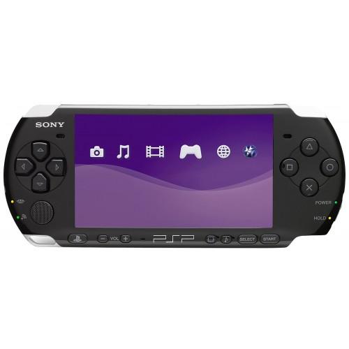 CONSOLA PSP SLIM 2004 PRETA -USADA