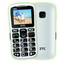 ZTC SENIOR PHONE SP45 BRANCO- NOVO
