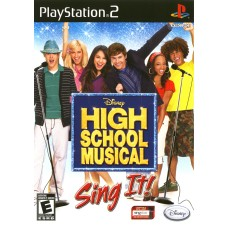 PS2 High School Musical: Sing it! - Usado